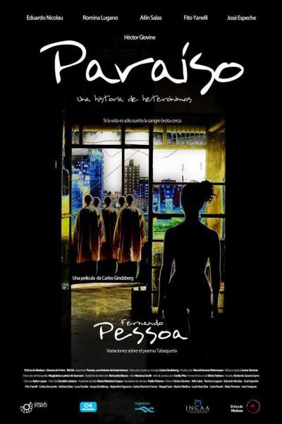 Caratula, cartel, poster o portada de Paraíso, una historia de heterónimos