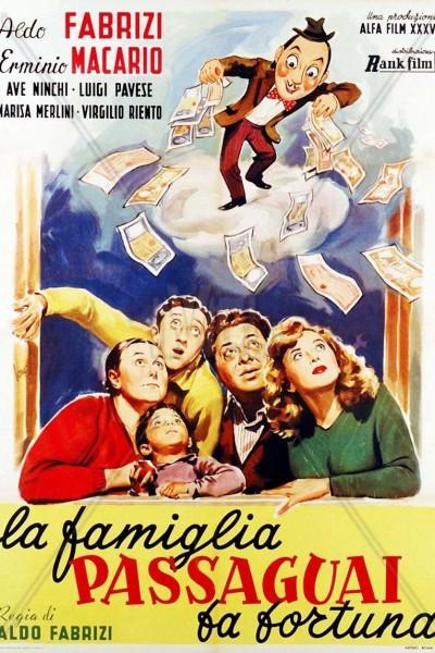 Caratula, cartel, poster o portada de La famiglia Passaguai fa fortuna