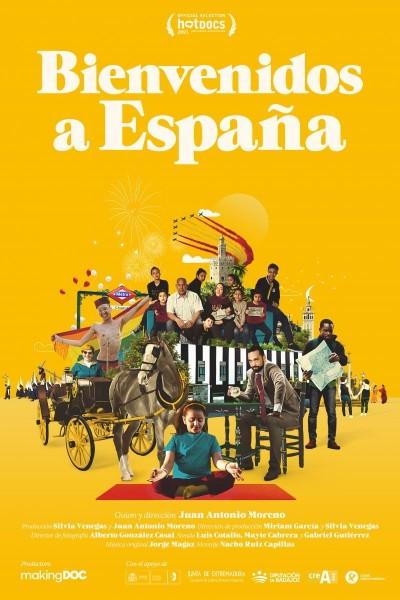Caratula, cartel, poster o portada de Bienvenidos a España