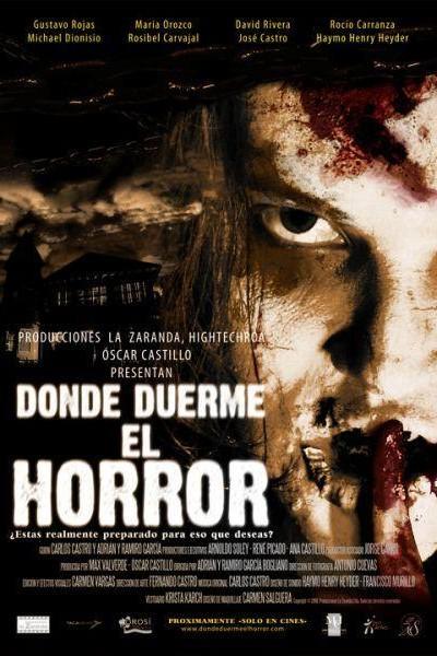 Caratula, cartel, poster o portada de Donde duerme el horror