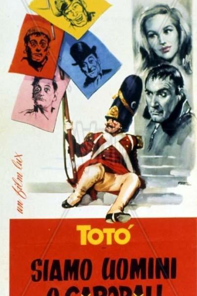 Caratula, cartel, poster o portada de Siamo uomini o caporali