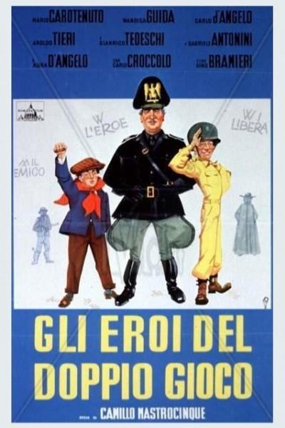 Caratula, cartel, poster o portada de Gli eroi del doppio gioco