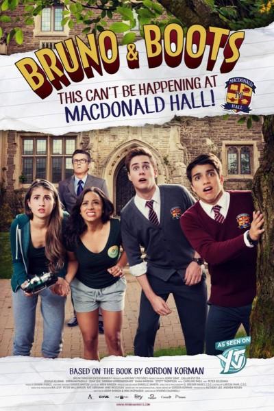 Caratula, cartel, poster o portada de Bruno y Boots: Esto no puede estar ocurriendo