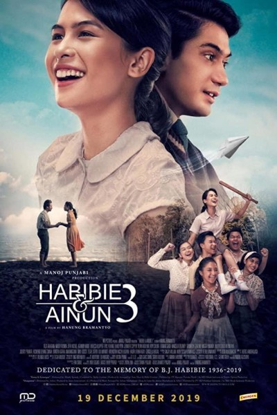 Caratula, cartel, poster o portada de Habibie & Ainun 3