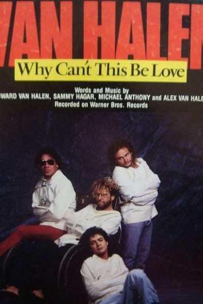 Caratula, cartel, poster o portada de Van Halen: Why Can\'t This Be Love? (Vídeo musical)