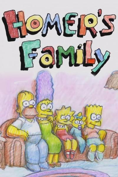 Caratula, cartel, poster o portada de The Simpsons: Homer\'s Family