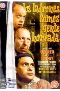 Caratula, cartel, poster o portada de Los ladrones somos gente honrada