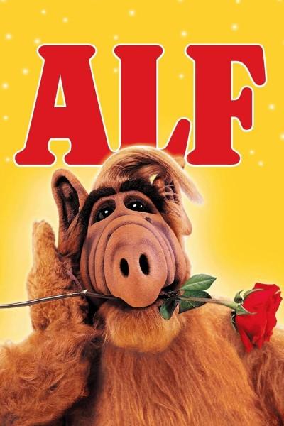 Caratula, cartel, poster o portada de ALF