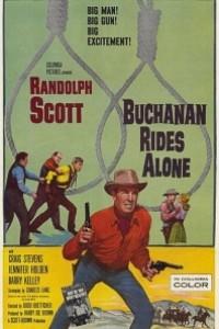Caratula, cartel, poster o portada de Buchanan cabalga de nuevo
