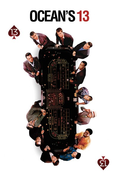 Caratula, cartel, poster o portada de Ocean\'s 13 (Ocean\'s Thirteen)