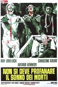 Caratula, cartel, poster o portada de No profanar el sueño de los muertos