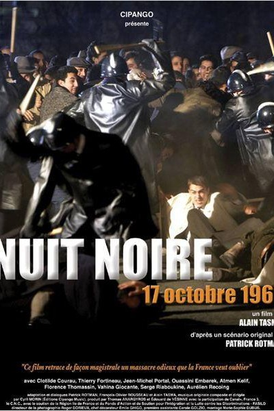 Caratula, cartel, poster o portada de Nuit noire, 17 octobre 1961