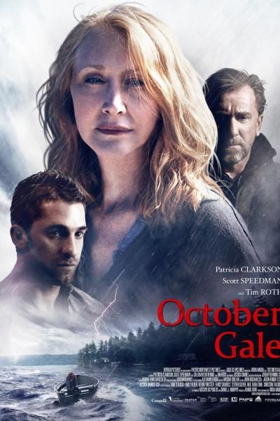 Caratula, cartel, poster o portada de October Gale