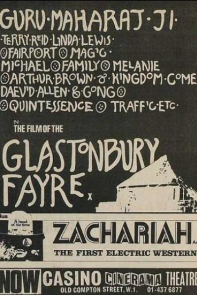 Caratula, cartel, poster o portada de Glastonbury Fayre