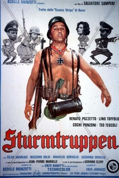 Caratula, cartel, poster o portada de Sturmtruppen ¡Jo, qué guerra!