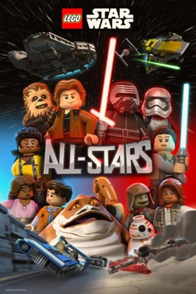 Caratula, cartel, poster o portada de Lego Star Wars: All-Stars