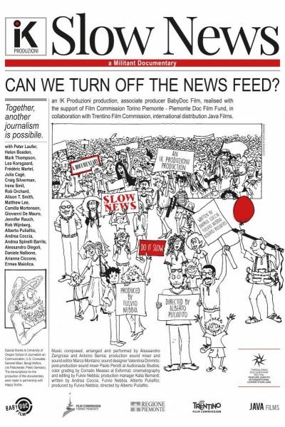 Caratula, cartel, poster o portada de Slow News