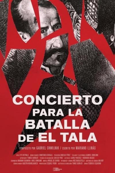 Caratula, cartel, poster o portada de Concierto para la batalla de El Tala