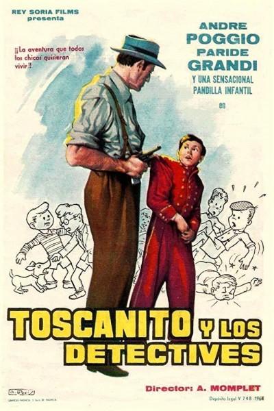 Caratula, cartel, poster o portada de Toscanito y los detectives
