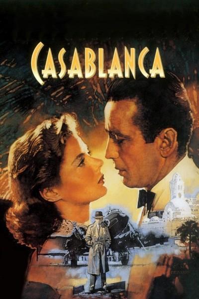 Caratula, cartel, poster o portada de Casablanca