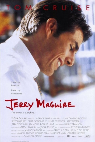 Caratula, cartel, poster o portada de Jerry Maguire