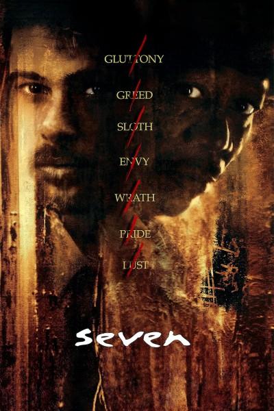 Caratula, cartel, poster o portada de Seven