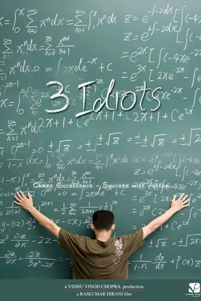 Caratula, cartel, poster o portada de 3 Idiots