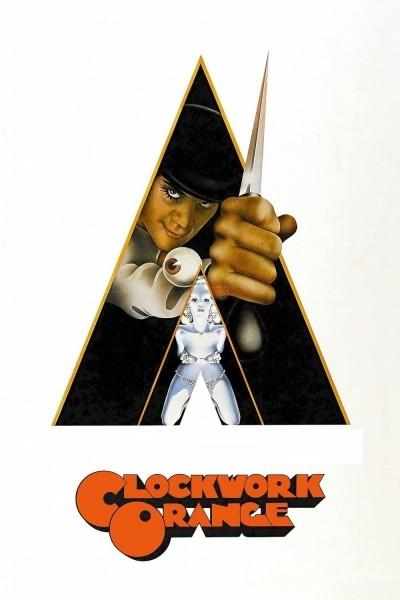 Caratula, cartel, poster o portada de La naranja mecánica