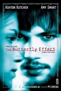 Caratula, cartel, poster o portada de El efecto mariposa
