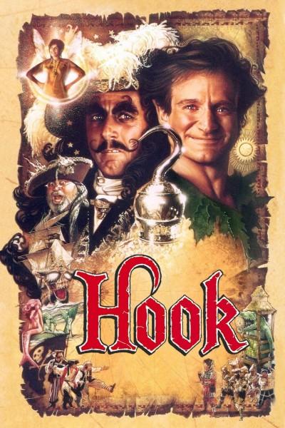 Caratula, cartel, poster o portada de Hook (El capitán Garfio)