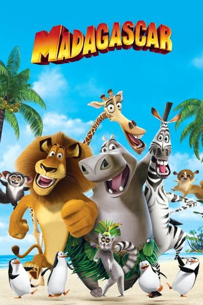 Caratula, cartel, poster o portada de Madagascar