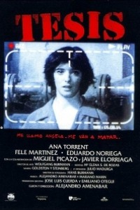 Caratula, cartel, poster o portada de Tesis