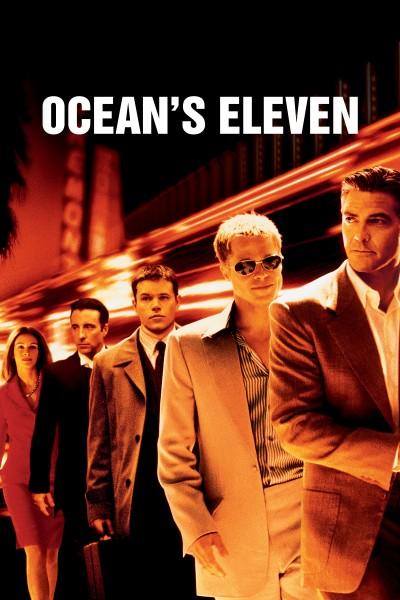 Caratula, cartel, poster o portada de Ocean\'s Eleven (Hagan Juego)