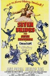 Caratula, cartel, poster o portada de Siete novias para siete hermanos