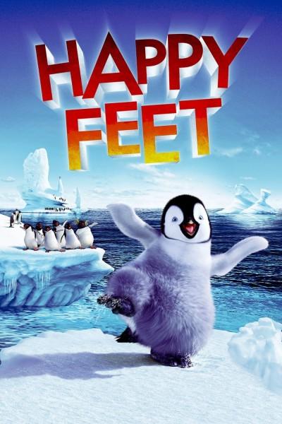 Caratula, cartel, poster o portada de Happy Feet: Rompiendo el hielo