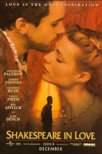 Caratula, cartel, poster o portada de Shakespeare enamorado