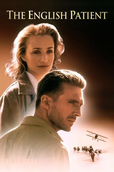 Caratula, cartel, poster o portada de El paciente inglés