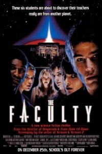 Caratula, cartel, poster o portada de The Faculty