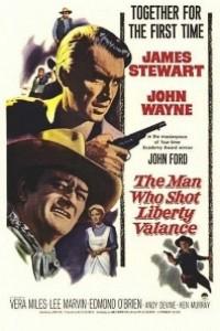 Caratula, cartel, poster o portada de El hombre que mató a Liberty Valance