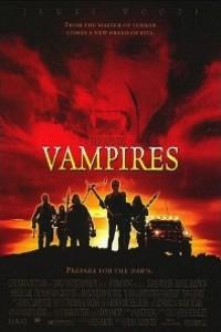 Caratula, cartel, poster o portada de Vampiros de John Carpenter