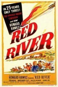 Caratula, cartel, poster o portada de Río Rojo