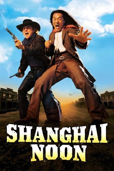 Caratula, cartel, poster o portada de Shanghai Kid, del este al oeste