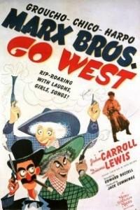Caratula, cartel, poster o portada de Los hermanos Marx en el Oeste