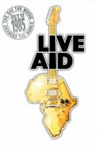 Caratula, cartel, poster o portada de Live Aid