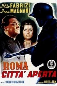 Caratula, cartel, poster o portada de Roma, ciudad abierta