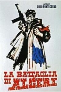 Caratula, cartel, poster o portada de La batalla de Argel