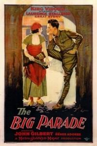 Caratula, cartel, poster o portada de El gran desfile