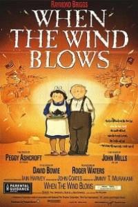 Caratula, cartel, poster o portada de Cuando el viento sopla