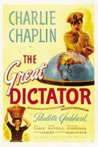 Caratula, cartel, poster o portada de El gran dictador