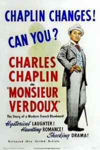 Caratula, cartel, poster o portada de Monsieur Verdoux